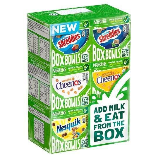 Nestle Box Bowls Variety 6pk 210g