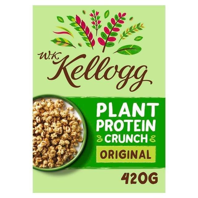 Kellogg's WK Plant Protein Crunch Original 420g NEW