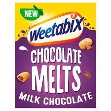 Weetabix Melts Milk Chocolate Cereal 360g NEW
