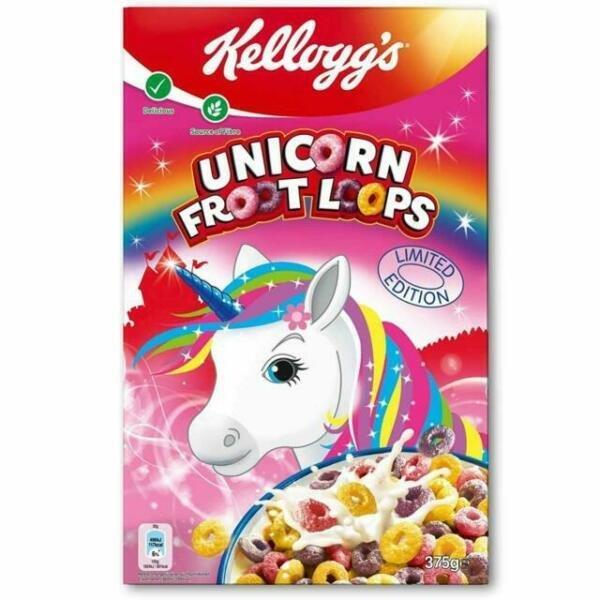 Kellogg's Unicorn Fruit Loops 375g NEW