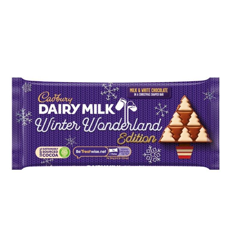 Cadbury Dairy Milk Winter Block 100g