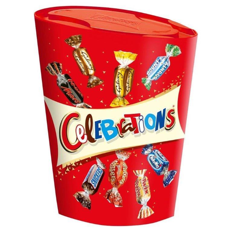 Celebrations Small Carton 240g