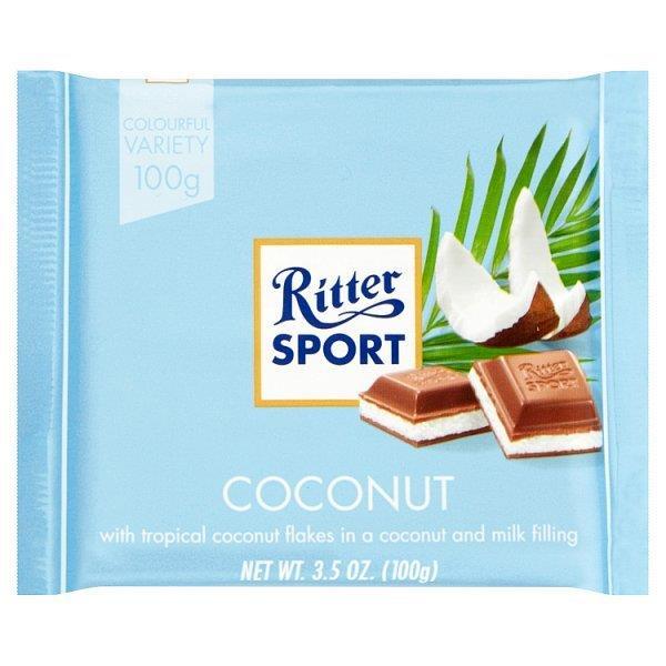 Ritter Sport Colour Coconut 100g