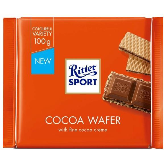 Ritter Sport Colour Cocoa Wafer 100g