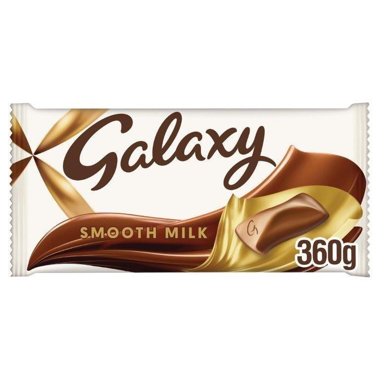 Galaxy Smooth Milk Large Gifting Block 360g