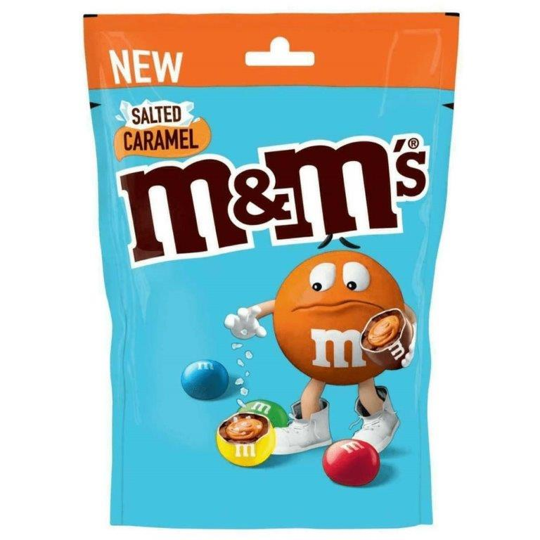 M&M's Large Pouch Salted Caramel 109g