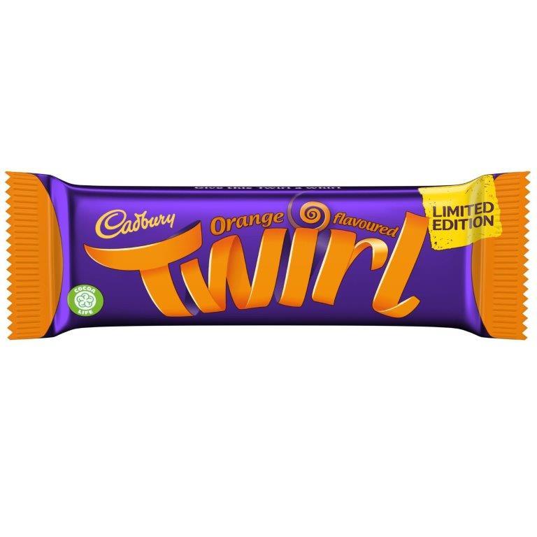 Cadbury Twirl Std Orange 43g NEW