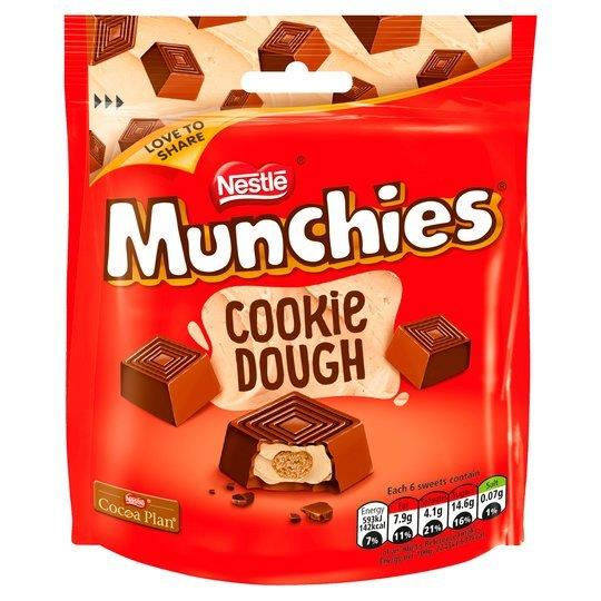 Munchies Pouch Cookie Dough 101g