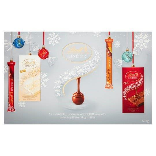 Lindt Lindor Classic Selection Box 500g