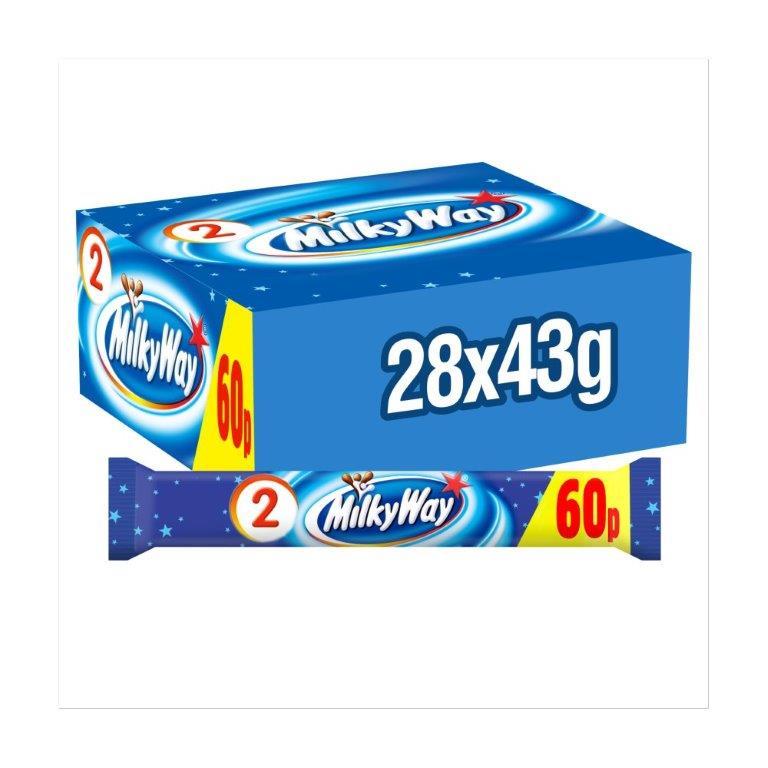 Milky Way Twin Std 43g PM 60p