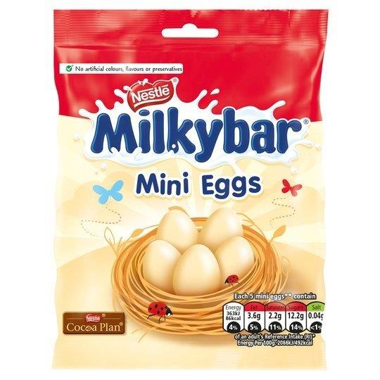 Milkybar Mini Eggs Bag 80g