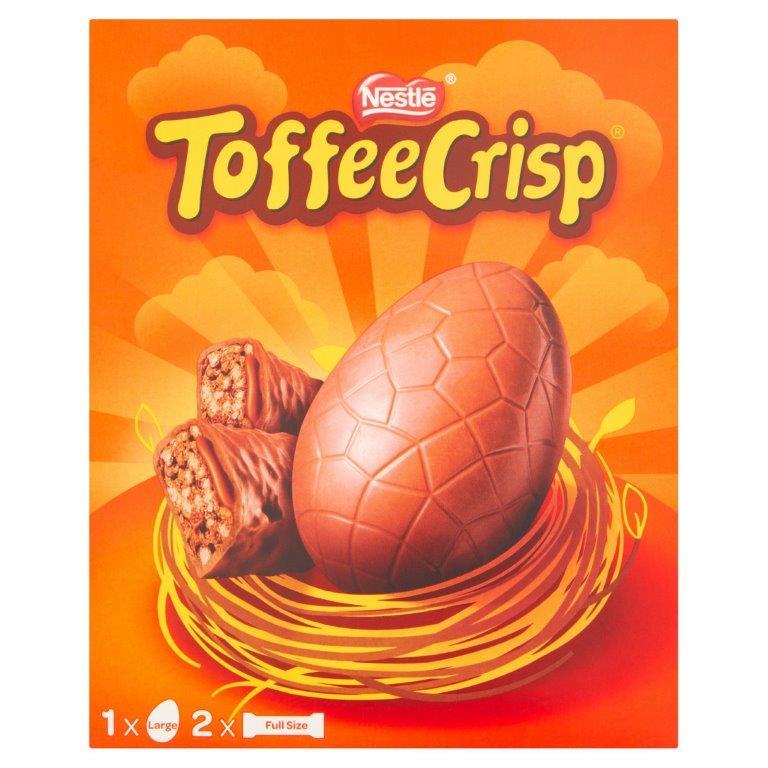 Toffee Crisp Large Egg 256g