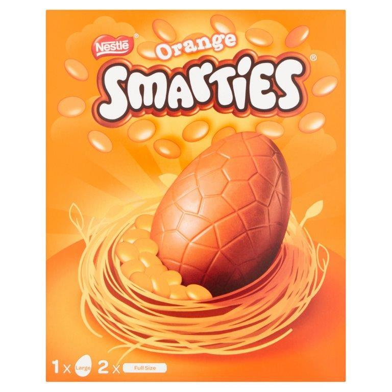 Smarties Orange Large Egg 256g