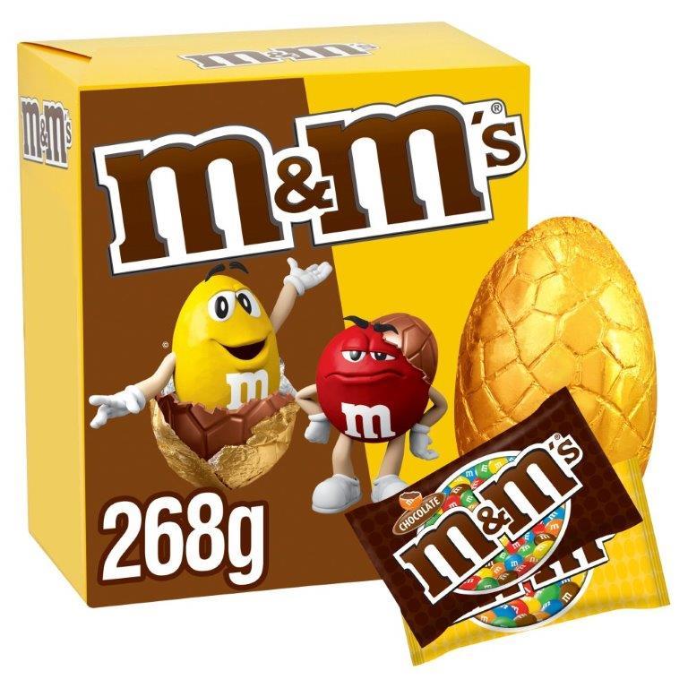 M&M's Mix Large (Choco & Peanut) Egg 268g