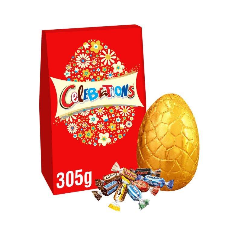 Celebrations Extra Large Egg 305g