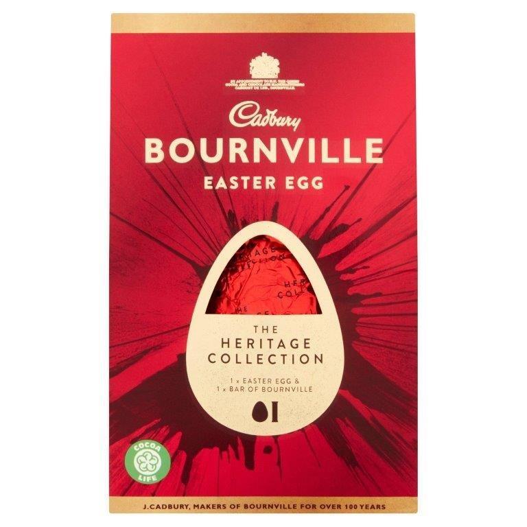 Cadbury Bournville Dark Heritage Egg 155g