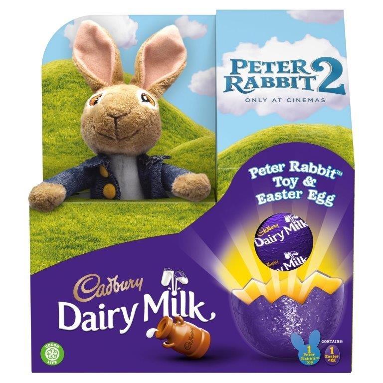 Cadbury Dairy Milk Classic Peter Rabbit 72g
