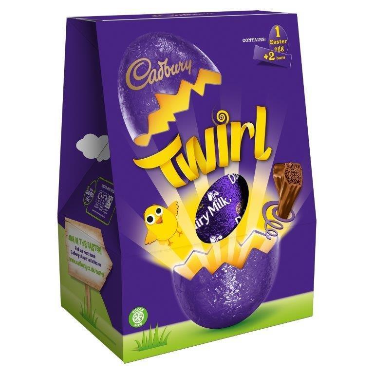 Cadbury Twirl Large Egg 237g