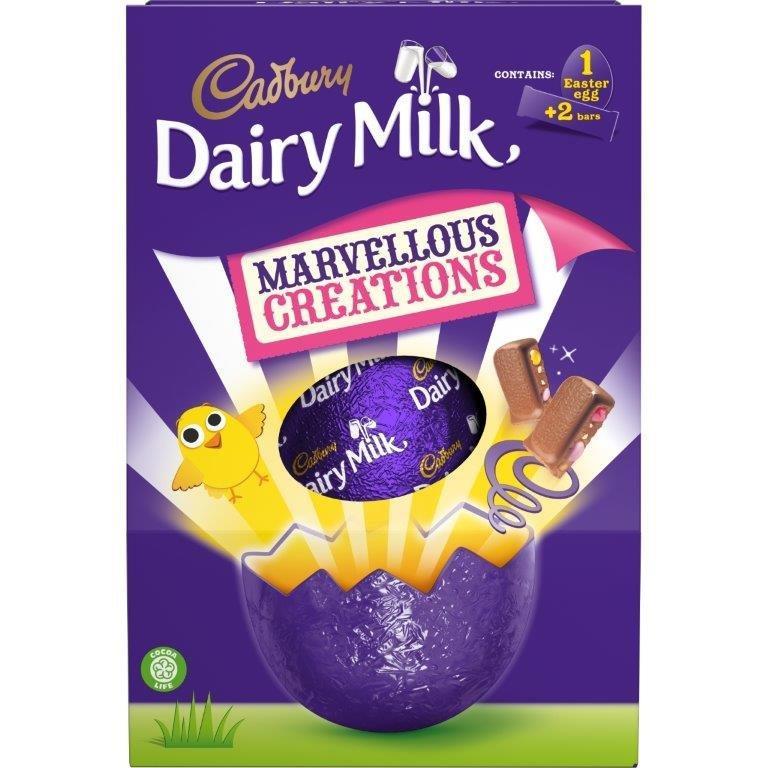 Cadbury Dairy Milk Marvelous Creations Large Egg 246g