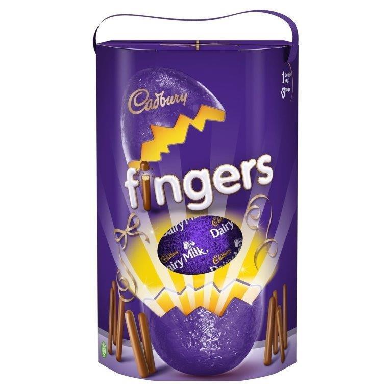 Cadbury Fingers Egg 212g