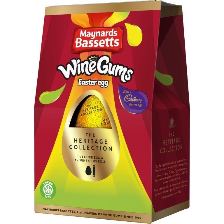 Cadbury Wine Gums Heritage Egg 162g
