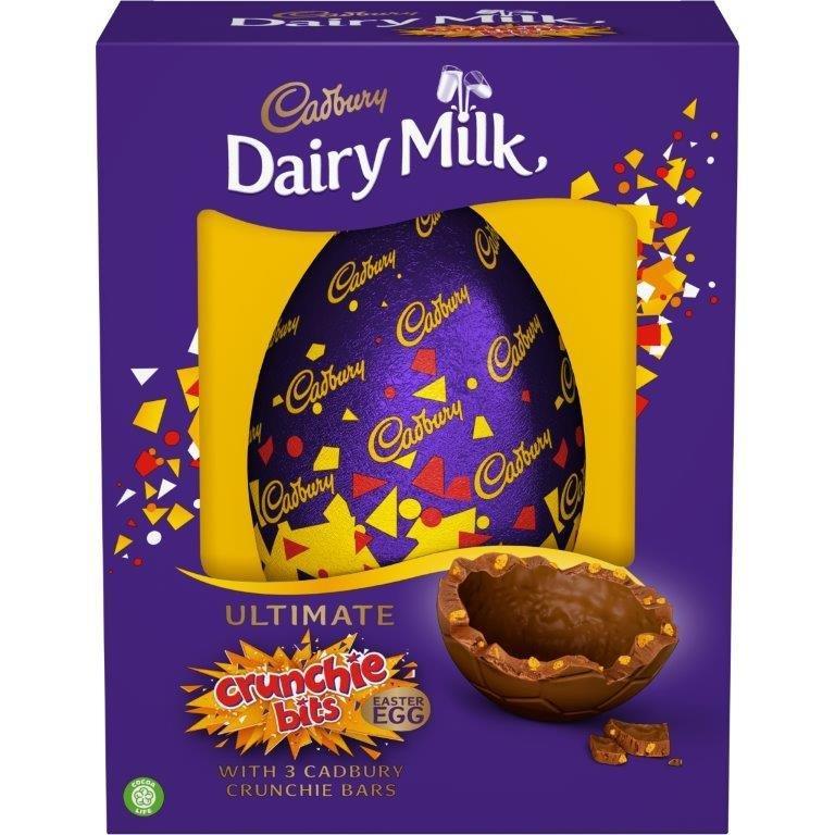Cadbury Dairy Milk Crunchie Egg Inclusions 542g