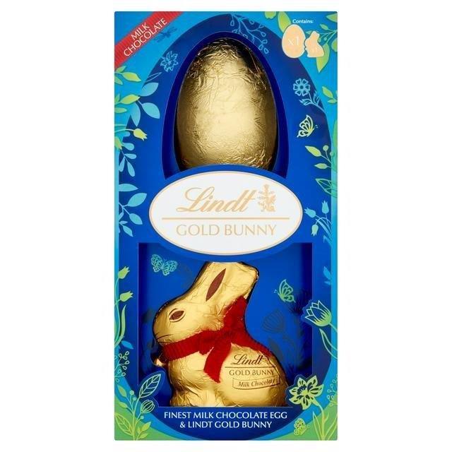 Lindt Gold Bunny Shell Egg 195g
