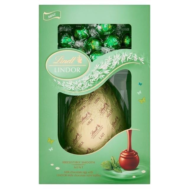 Lindor Shell Egg Mint 260g