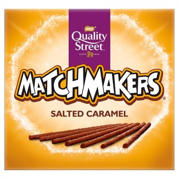DUPLICATE Quality Street Matchmakers Salted Caramel 120g