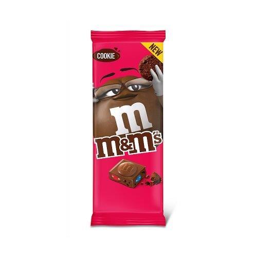 M&M's Block Cookie 165g NEW