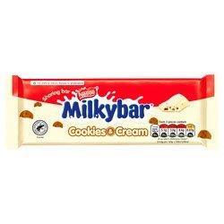 Milkybar Block Cookies & Cream 90g