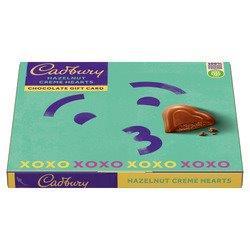 Cadbury Cards Heart 114g NEW