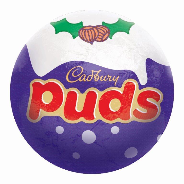Cadbury Xmas Puds 35g