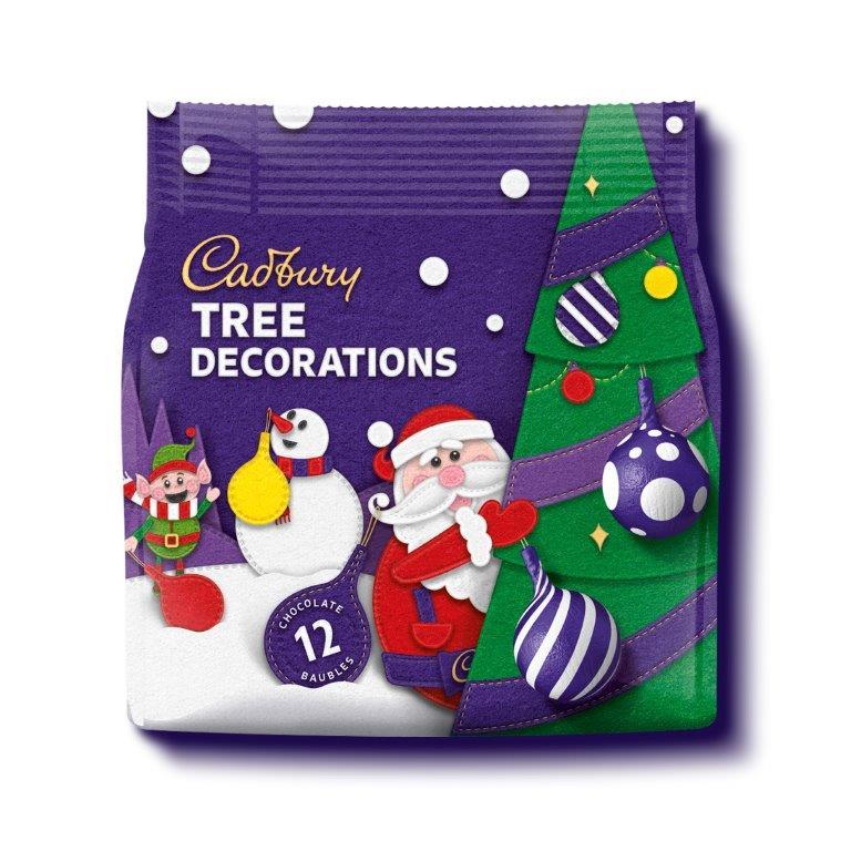 Cadbury Tree Decorations Bag 72g