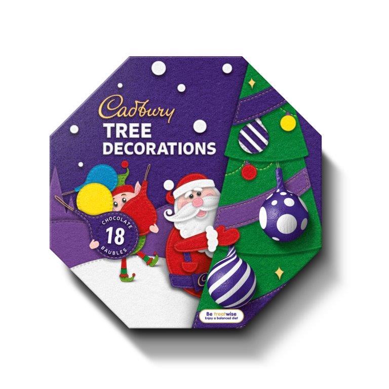 Cadbury Tree Decorations Box 108g