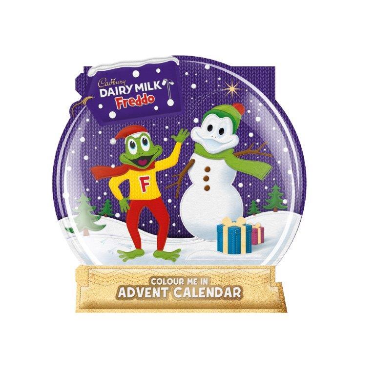 Cadbury Freddo 2D Advent Calender 102g