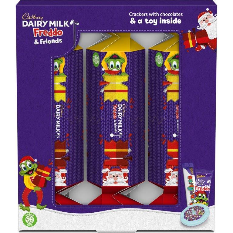 Cadbury Freddo Cracker Multipack 125g