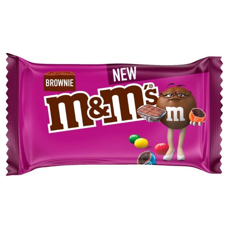 M&M's Std Bag Brownie 36g NEW