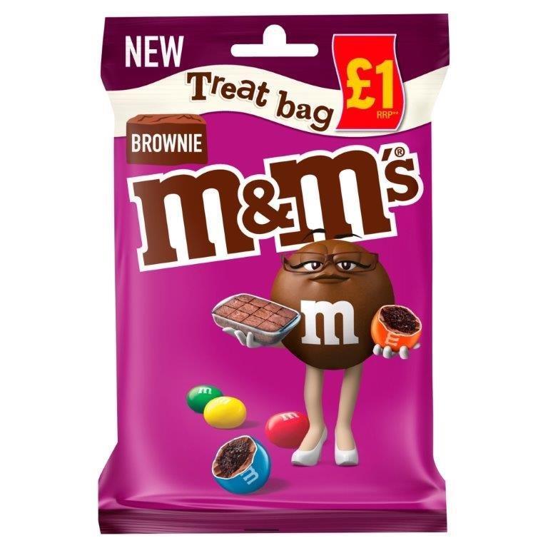M&M's Treat Bag Brownie 70g PM £1 NEW