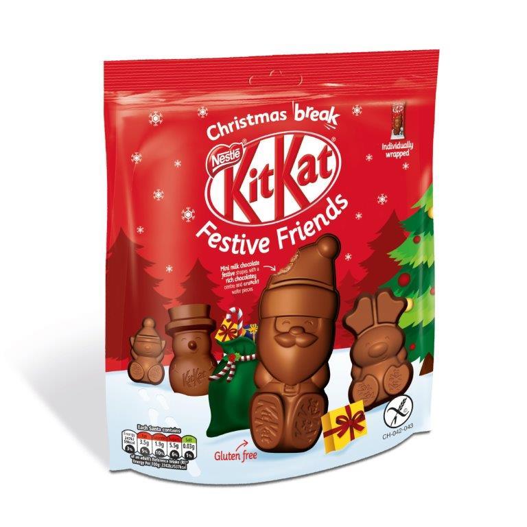 Kit Kat Santa Large Pouch 220g