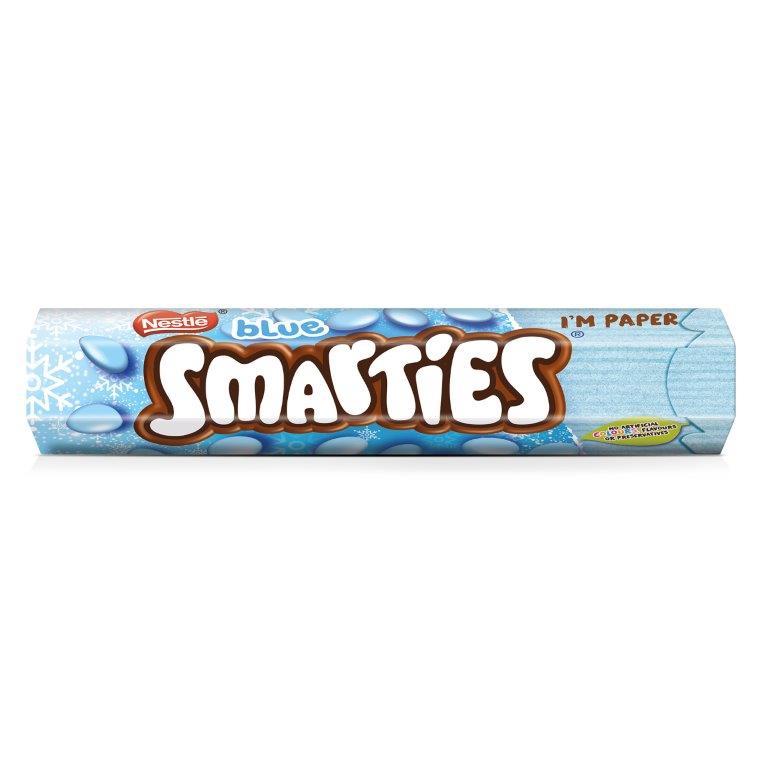 Smarties Giant Tube Blue 120g