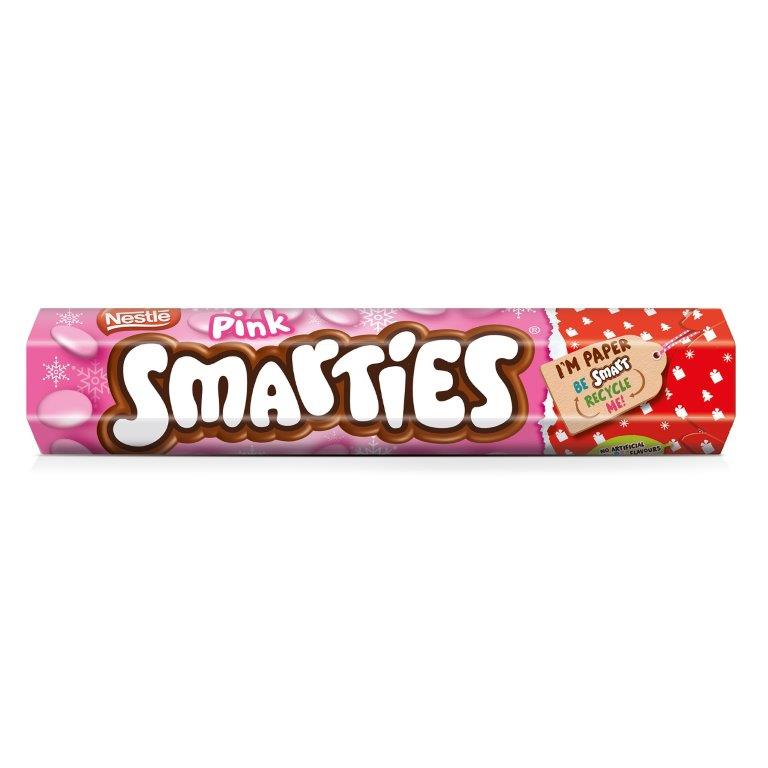 Smarties Giant Tube Pink 120g