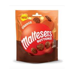 Maltesers Buttons Orange Pouch 102g NEW