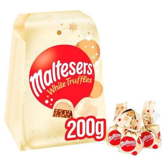 Maltesers White Truffles Medium Gift Box 200g
