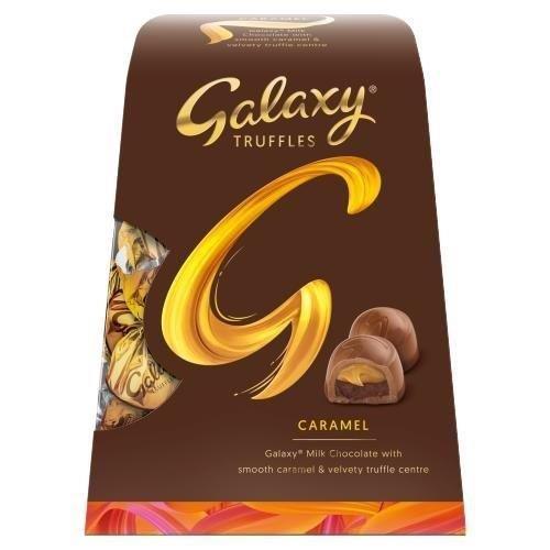 Galaxy Caramel Truffles Medium Gift Box 198g