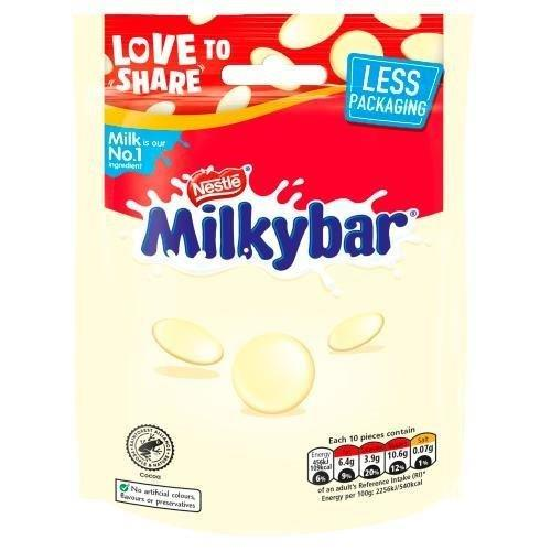 Milkybar Buttons Pouch 94g