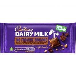 Cadbury Inventor No Frownie Brownie 110g NEW