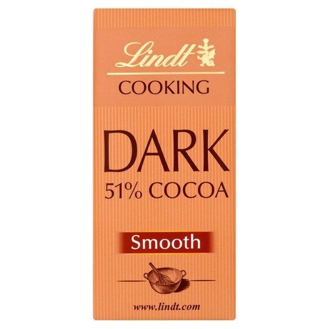 Lindt Cooking Bar 51% 200g