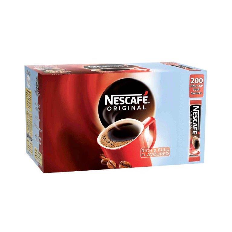 Nescafe Original Stick Pack 200's