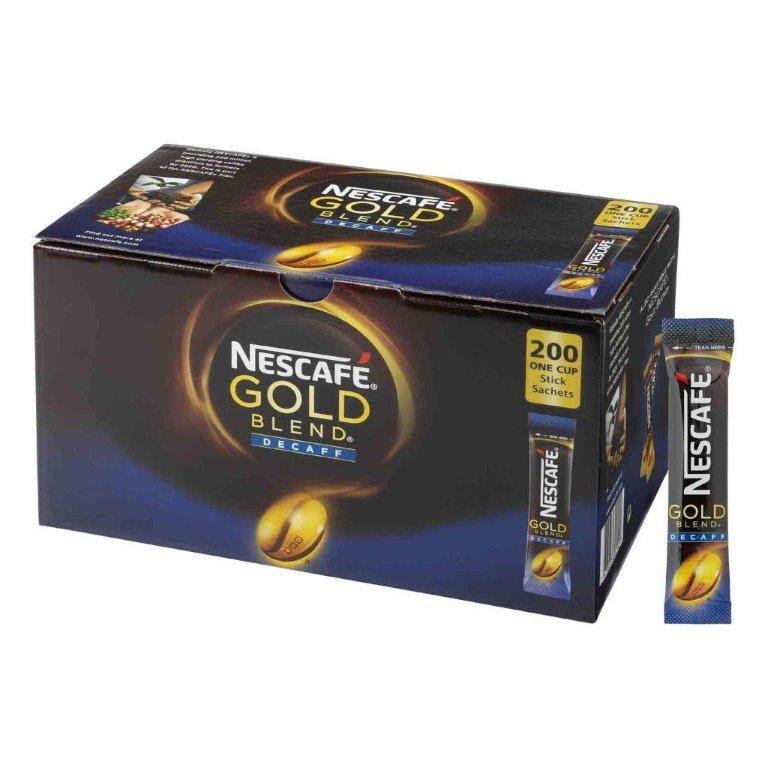Nescafe Gold Blend Stick Pack Decaf 200's
